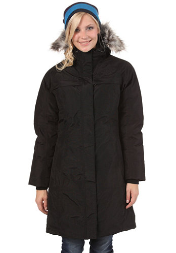 Womens Arctic Parka Jacket 2012 tnf black