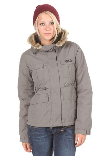 Womens Cascade Jacket dark grey