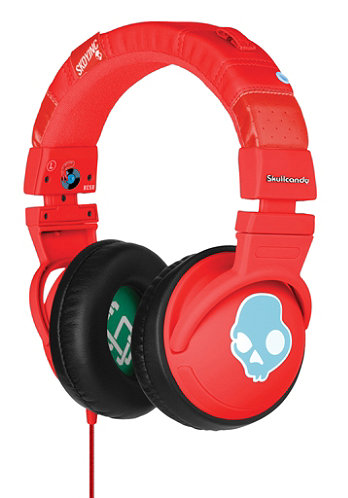 Hesh Headphones with Mic red