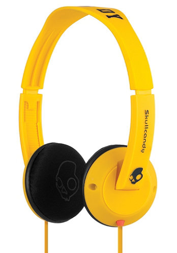 Uprock Headphones yellow