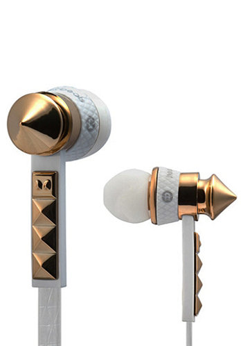 HeartBeats 2.0 Lady Gaga Headphones white/gold