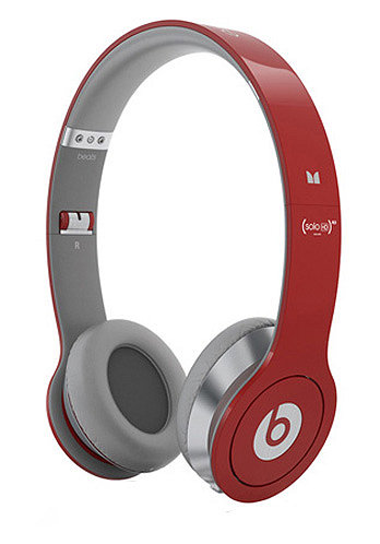 Solo HD beats by Dr. Dre Headphones red