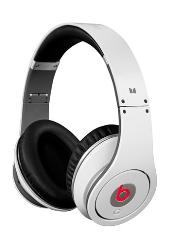 Studio beats by Dr. Dre Headphones white