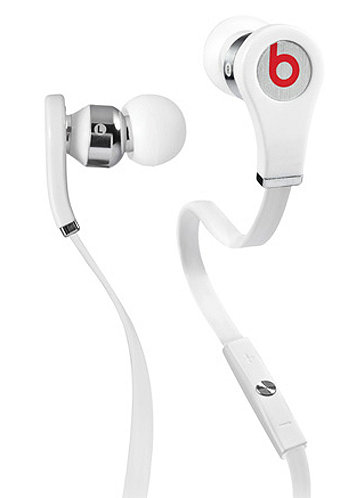 Tour beats by Dr. Dre Headphones white