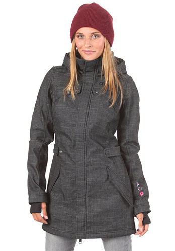 Womens Quartz Hyperfleece black/aop