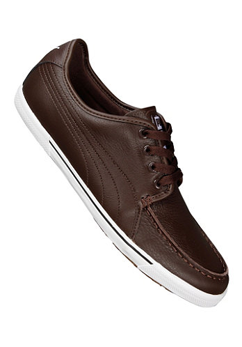 Benecio Mocc Toe chocolate brown
