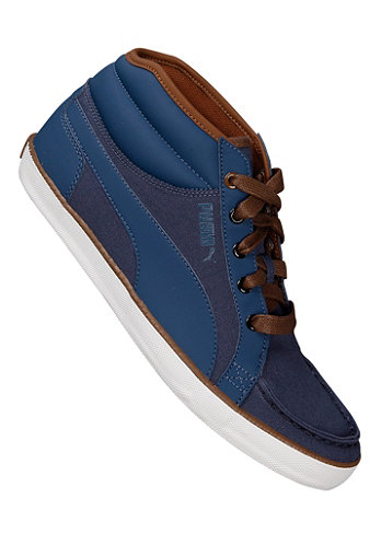 Chukka Serion Skate dark denim/bison brown/white