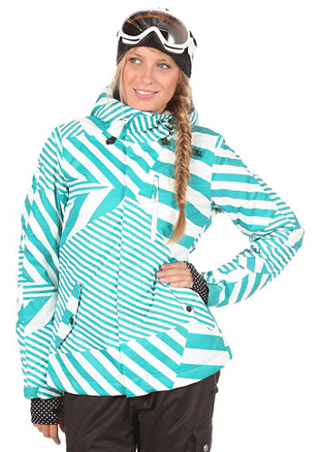 Womens Escape Cats Eye Jacket green/aop