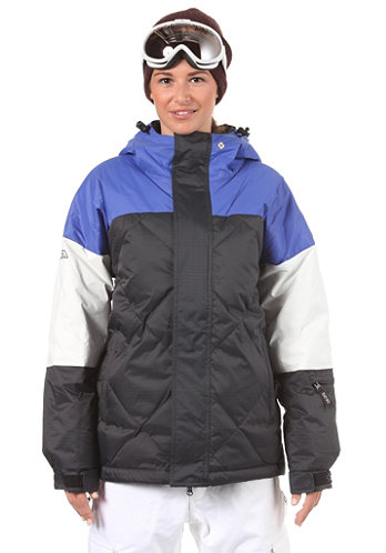 Cinemascope Jacket dazzling blue/white/black