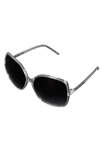 Womens Rockin Lady Sunglass clear