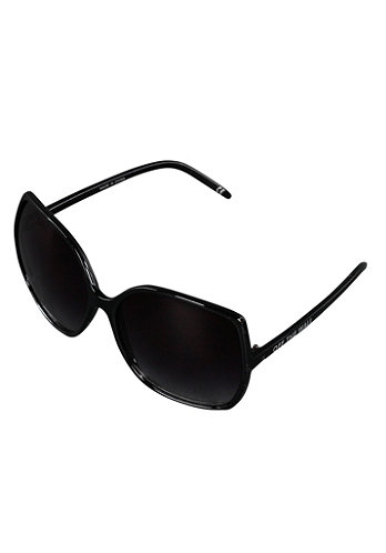 Womens Rockin Lady Sunglass transparent onyx
