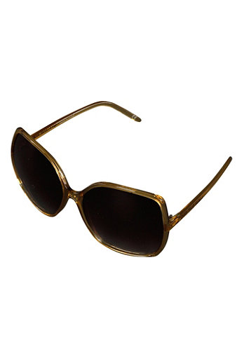 Womens Rockin Lady Sunglass transparent tan