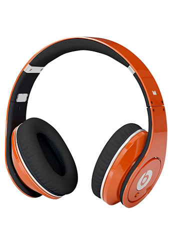 Studio beats by Dr. Dre Headphones orange