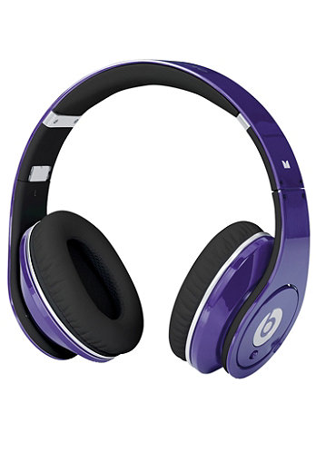 Studio beats by Dr. Dre Headphones purple