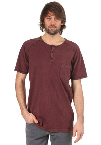 Ace Loose S S T Shirt burgundy