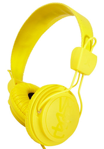 Matte Conga Premium Headphones dandellion yellow