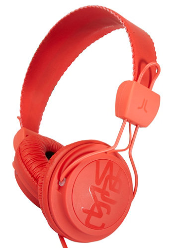 Matte Conga Premium Headphones hot orange