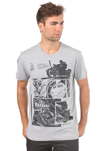 5620 Comic R T S S T Shirt grey heather