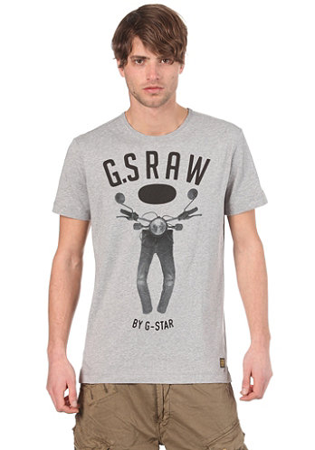 5620 Restany R T S S T Shirt grey heather