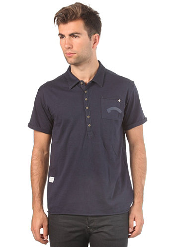 Marshall S/S Polo Shirt naval blue