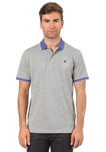 Cl 3301 Slim S/S Polo Shirt grey heather