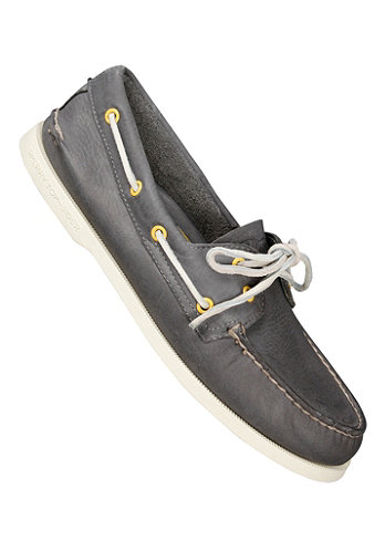 Authentic Original 2 Eye Burnished Leather grey