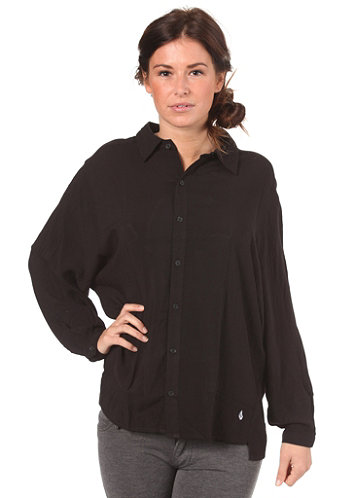 Womens Not So Classic Dolman L/S T-Shirt black