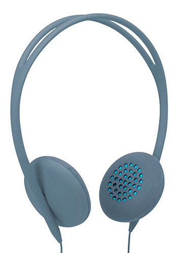Pivot Headphones dove/fluoro blue