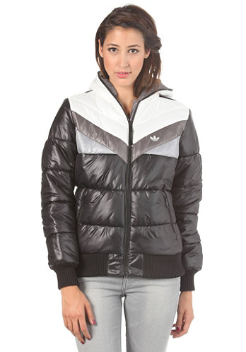 Womens Pad Colorado Jacket black/running white