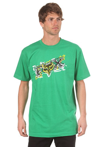 Alarmed S S T Shirt green