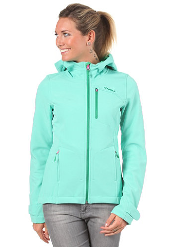 Womens Angelwing Hyperfleece cockatoo/green
