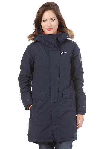 Womens Gear Hooded Jacket navy