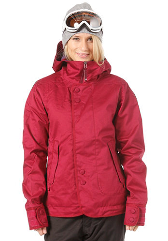 Womens Jet Set Jacket 2012 garnet