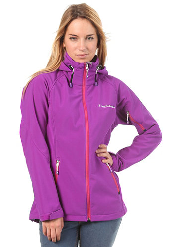 Womens Brigs Shj Active Jacket purple haze