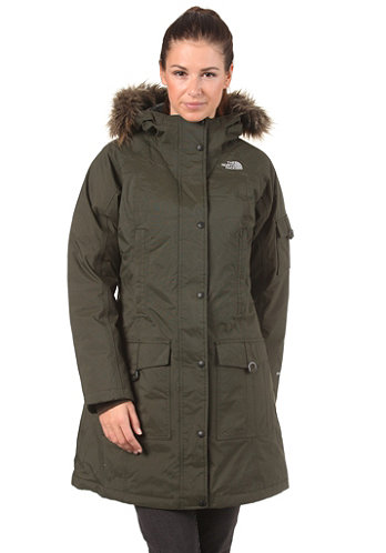 Womens Ins Juneau Jacket fig green