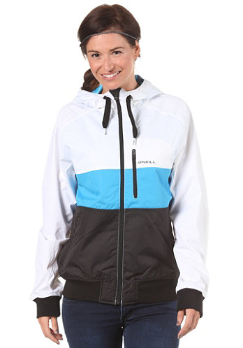 Womens LM Dawn Patrol Jacket white/aop