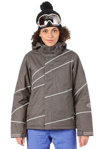 Womens Radiant Jacket iron-b