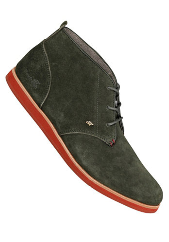 Dalston Red Line Suede dark green