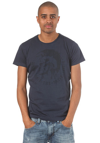 Achel S S T Shirt blue