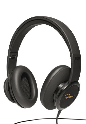 RZA Premium DJ Pro Headphones deep black