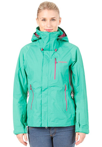 Womens Piolet Jacket brilliant green