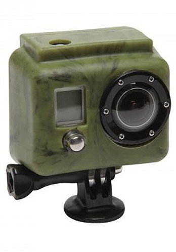 Silicon Cover GoPro dark/green camou
