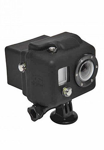 Hooded Silicon Cover GoPro black