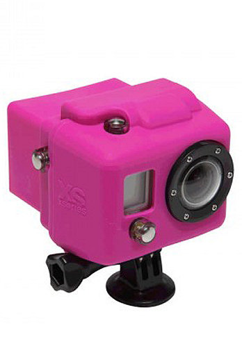 Hooded Silicon Cover GoPro pink