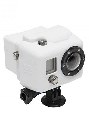 Hooded Silicon Cover GoPro white