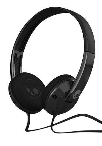 Uprock Headphones black/black w/mic