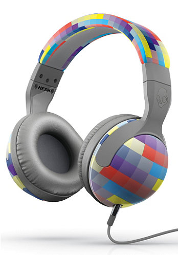 Hesh 2.0 Headphones grey/gridlock