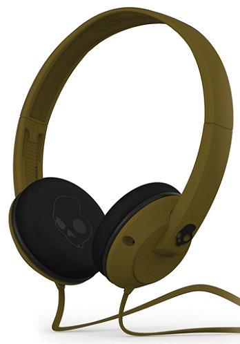 Uprock Headphones army green w/mic