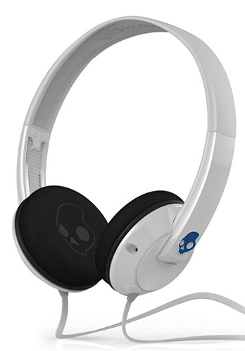 Uprock Headphones white/blue w/mic