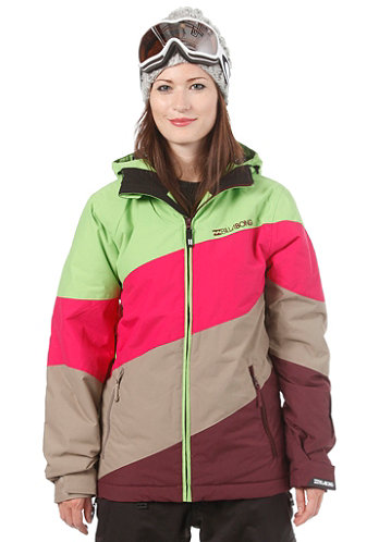 Womens Milouze Jacket 2013 bud green